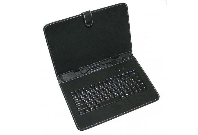 Чехол для планшета с клавиатурой RUS microUSB большой