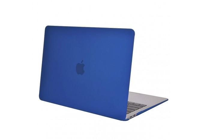 """Чехол / обложка / накладка для MacBook Air 13"""" 2018 A1932 HardShell синий матовый"""