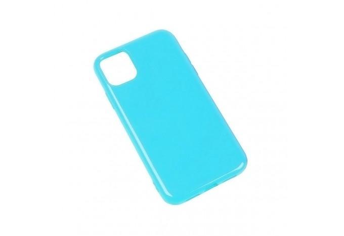 Чехол силиконовый для iPhone 11 Pro Max бирюзовый глянцевый