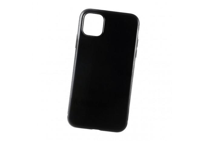 Чехол силиконовый для iPhone 11 Pro Max черный глянцевый