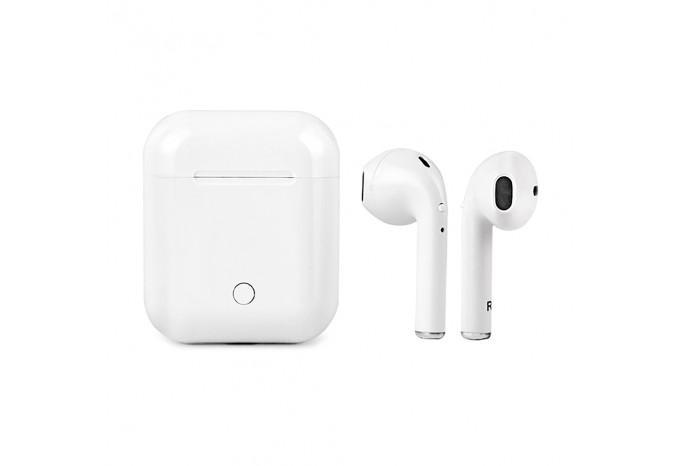 Беспроводные Bluetooth наушники с микрофоном для iPhone, iPad, Mac mini, Macbook с кейсом для зарядки