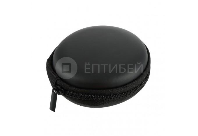 Чехол кейс для наушников/проводов круглый