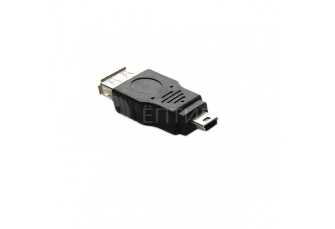 Переходник адаптер OTG с Mini USB на USB
