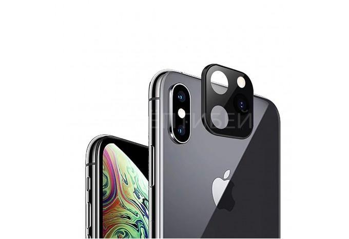 Наклейка на камеру iPhone X/XS для имитации камеры iPhone 11 Pro