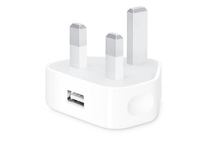 Адаптер питания Apple USB мощностью 5 Вт с UK 3-pin вилкой
