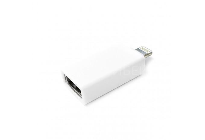 Переходник адаптер OTG с Lightning разъема на USB 2.0 для iPhone, iPad