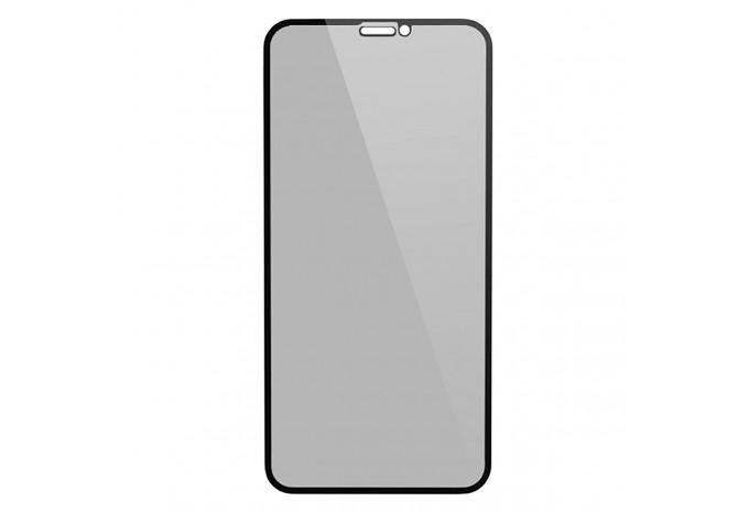 Защитное противоударное 3D стекло антишпион для iPhone XR, 11