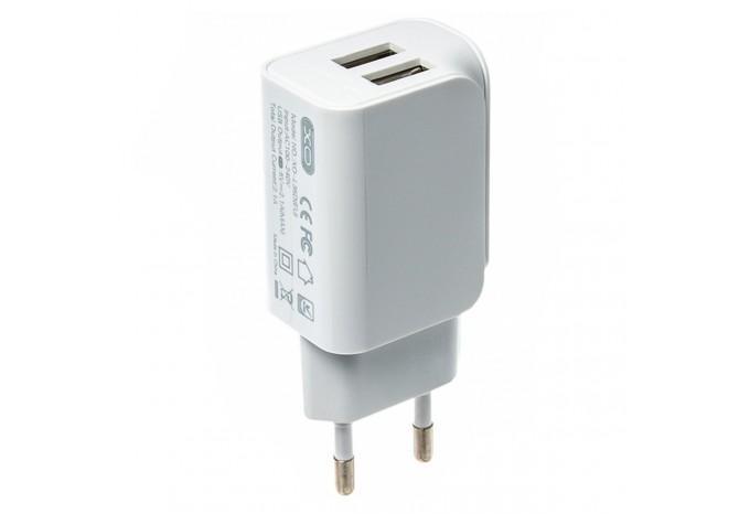 Адаптер питания зарядка 2 USB выхода XO-L35D