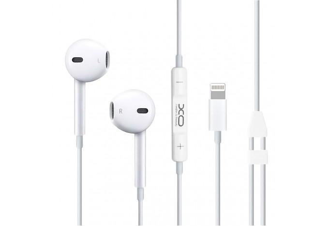 Наушники с микрофоном Lightning XO-S18 для iPhone 7, 8, X, XR, XS