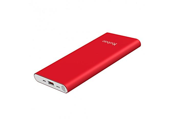 Внешний аккумулятор Yoobao Fashion Slim Air A1 10000 mAh для iPhone 7, 8 Red