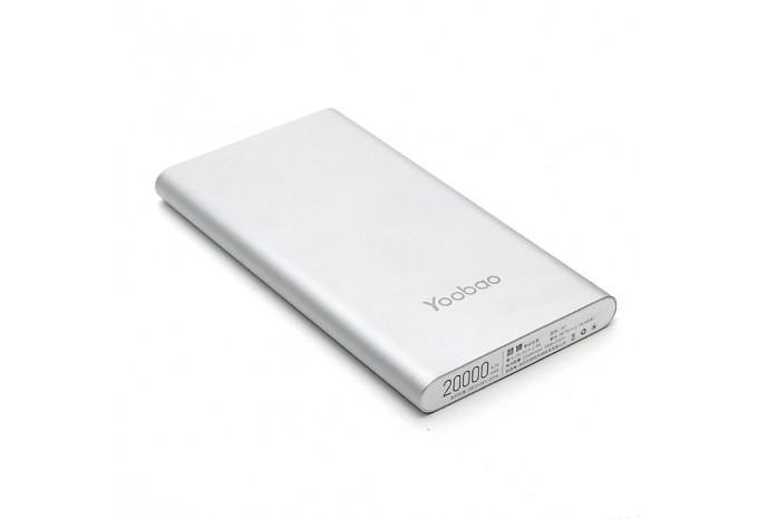 Внешний аккумулятор Yoobao A2 20000 mAh, 5V, 2.1A для iPhone, iPad