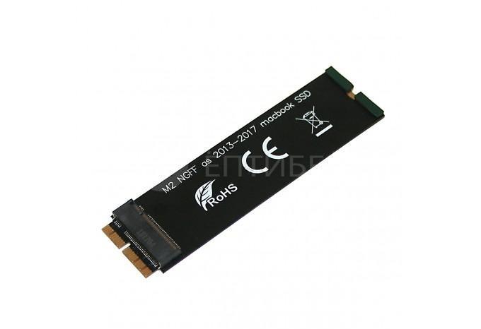 Переходник адаптер для установки M.2 SSD PCI-E NVME в Macbook, Mac mini, iMac 2013 - 2019