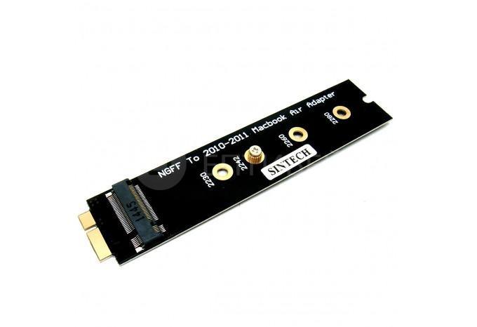 """Адаптер M.2 NGFF SSD для MacBook Air 13"""" и 11"""" 2010 - 2011"""