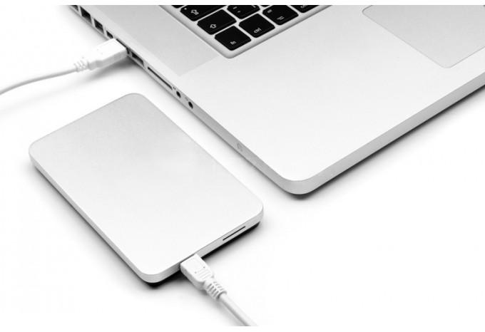 "USB корпус для жесткого диска 2,5"" iHDD M-HDD алюминиевый"