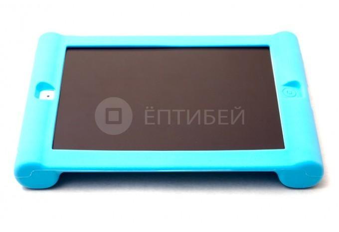 Детский чехол для ребенка для iPad 5/Air силиконовый голубой