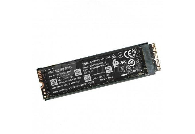 Комплект PCI-E NVMe SSD Intel 660p 2TB для MacBook Retina, Air, iMac 2013 - 2015, Mac mini 2014 с инструментом