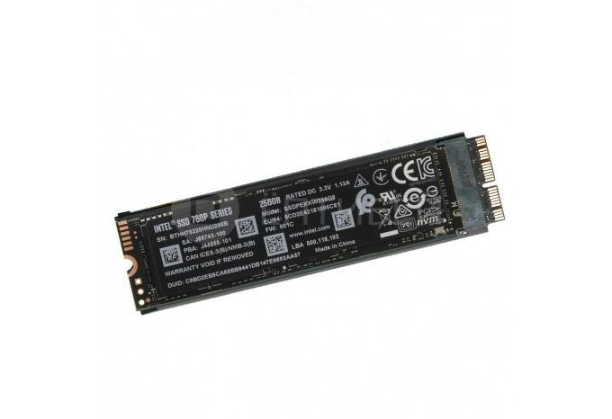 Комплект PCI-E NVMe SSD Intel 760p 128 GB для MacBook Retina, Air, iMac 2013 - 2015, Mac mini 2014 с инструментом