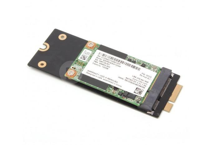 Адаптер конвертер для установки SSD mSATA в MacBook Retina Late 2012, Early 2013, iMac 2012