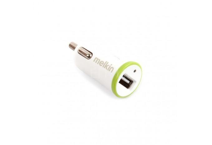 Автомобильное зарядное устройство USB для iPhone, iPad 5V / 2.1A с кабелем Lightning