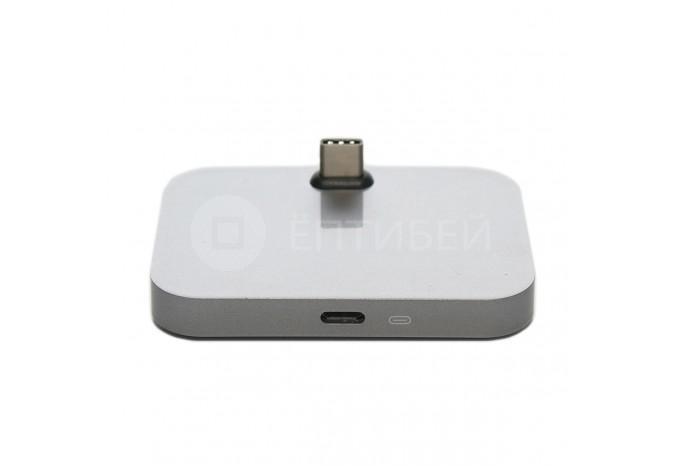Зарядная Dock - станция Space Gray USB-C для Xiaomi, HTC, Lenovo