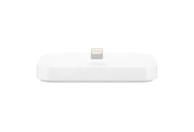 Зарядная Dock - станция белая для iPhone 5, 5C, 5S, 6, 6 Plus