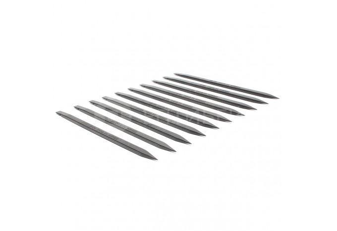 Комплект из 10 антистатических лопаток (Spudger) для ремонта Apple техники