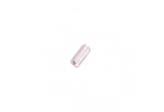 Кнопка Power для iPhone 5 серебристая