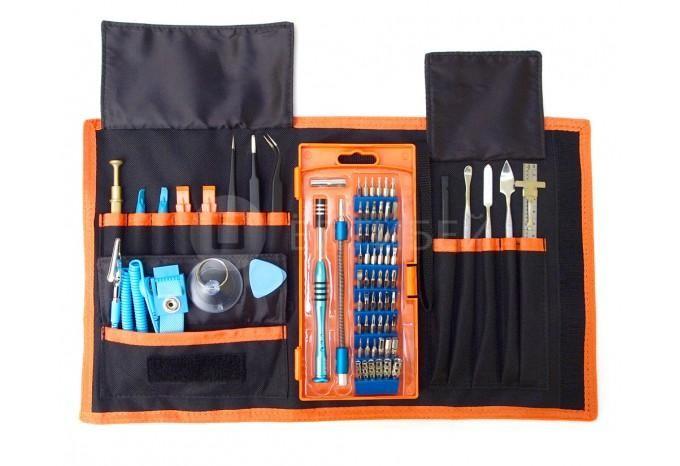 Набор инструмента для ремонта Apple техники 70 шт. в одной в сумке