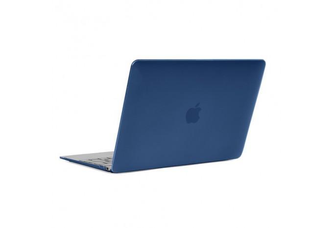 """Чехол / обложка / накладка для MacBook 12"""" 2015 YourCover синий матовый"""