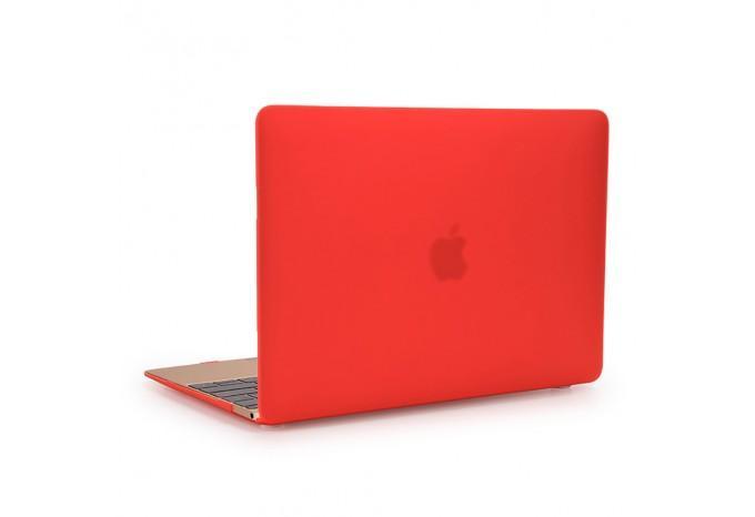 """Чехол / обложка / накладка для MacBook 12"""" 2015 YourCover красный матовый"""