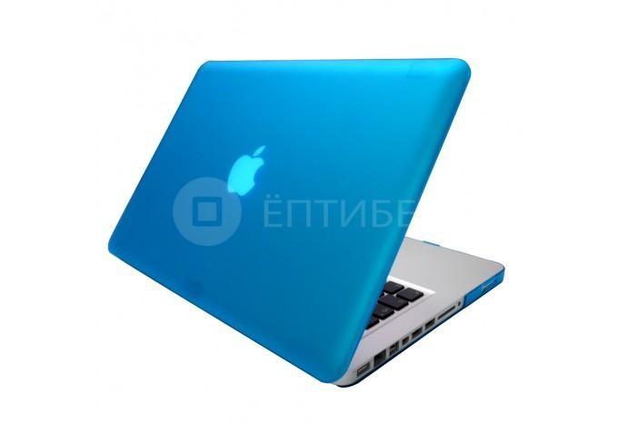 """Чехол / обложка / накладка для MacBook Pro 13"""" YourCover синий матовый"""