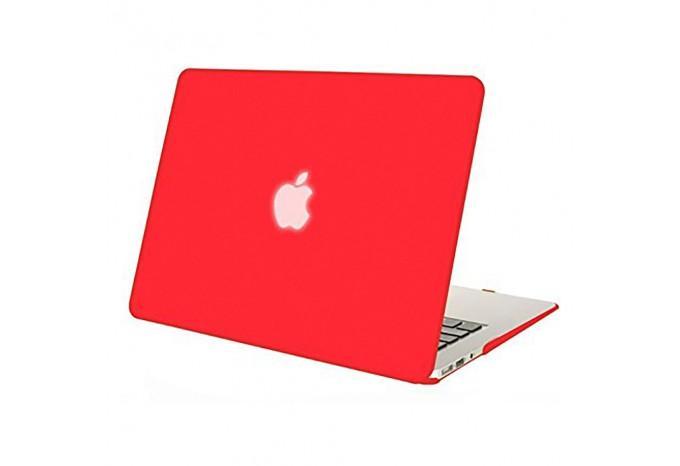 """Чехол / обложка / накладка для MacBook Air 13"""" YourCover красный матовый"""