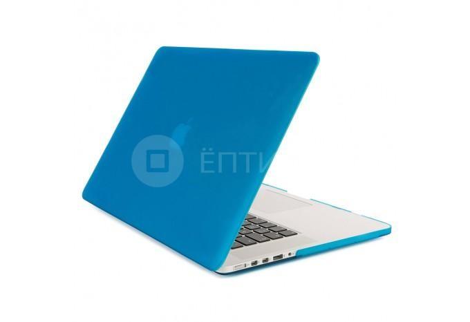 """Чехол / обложка / накладка для MacBook Retina 13"""" YourCover синий матовый"""