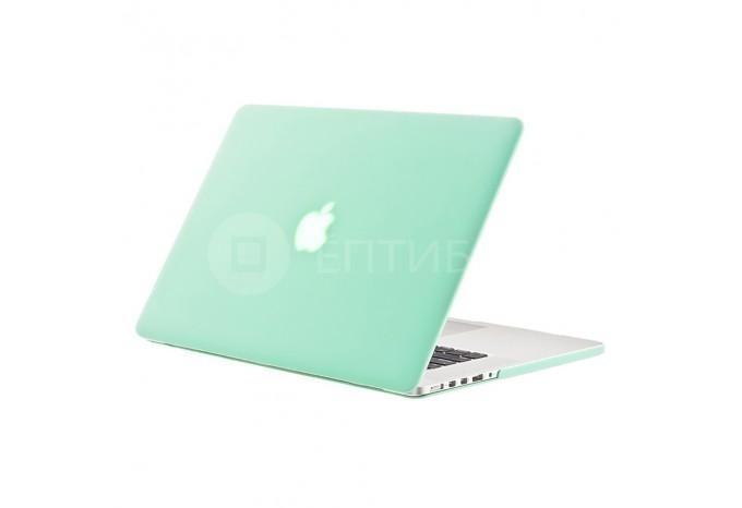"""Чехол / обложка / накладка для MacBook Retina 13"""" YourCover зеленый матовый"""