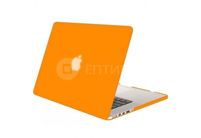 """Чехол / обложка / накладка для MacBook Retina 13"""" YourCover оранжевый матовый"""