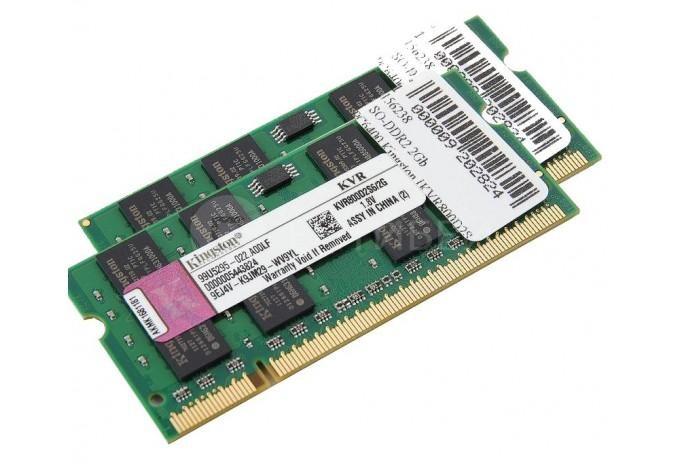 """Память для iMac 2008 24"""", MackBook Core 2 Duo 2008 DDR2 800 Kingston 4Gb (2x2) комплект"""
