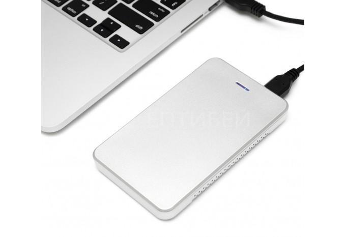 USB 3.0 контейнер OWC Express Silver для MacBook Pro, MacBook Air, Retina