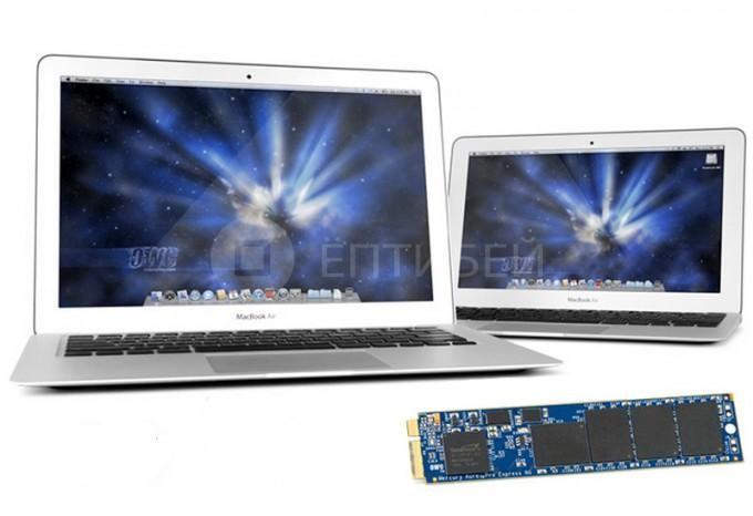"""SSD диск OWC Aura Pro 250 Гб для MacBook Air 11"""", 13"""" 2012"""