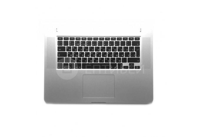 Топкейс с клавиатурой, тачпадом и батареей A1494 для MacBook Pro 15 A1398 Retina Late 2013 / Mid 2014 с русской раскладкой
