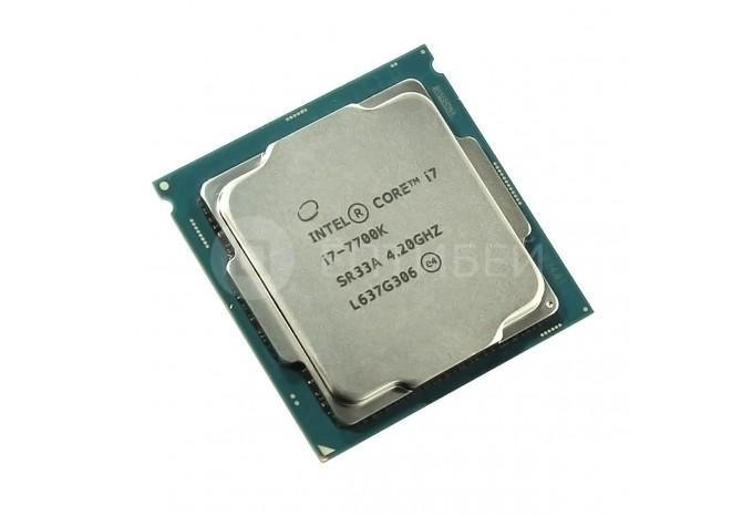 """Процессор Intel Core I7-7700K Kaby Lake для iMac 27"""" 5K Mid 2017"""