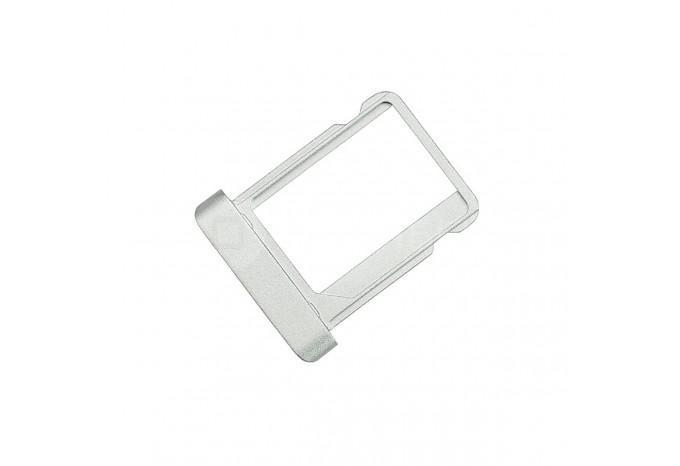 Сим-лоток (Micro Sim Card Tray) для Micro сим карты для iPad 2 / 3 / 4 серебряный