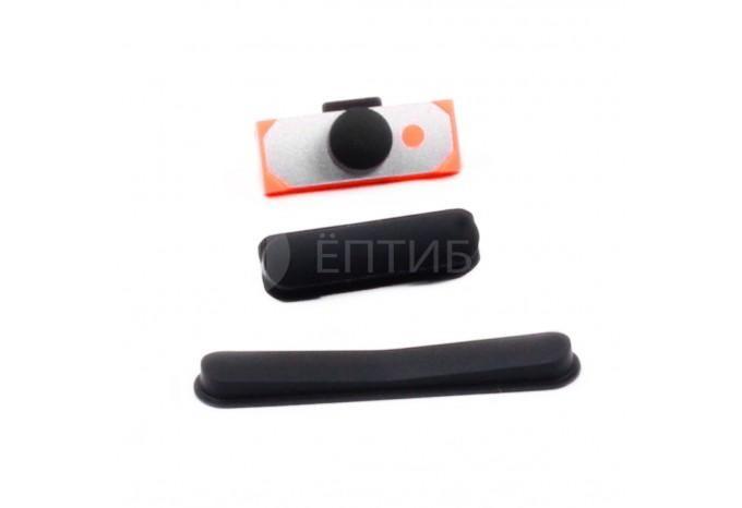 Комплект кнопок (Power, громкости, Mute) для iPad 2/3/4, черные