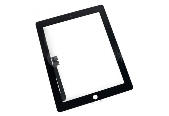 Тачскрин (сенсорное стекло) для iPad 3 / 4, черный