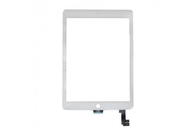 Тачскрин (сенсорное стекло) для iPad Air 2 белый