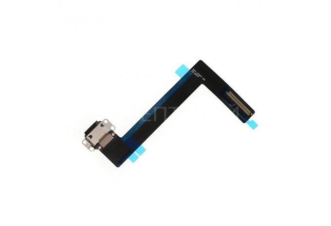 Шлейф нижний Lightning (зарядки) для iPad Air 2 черный