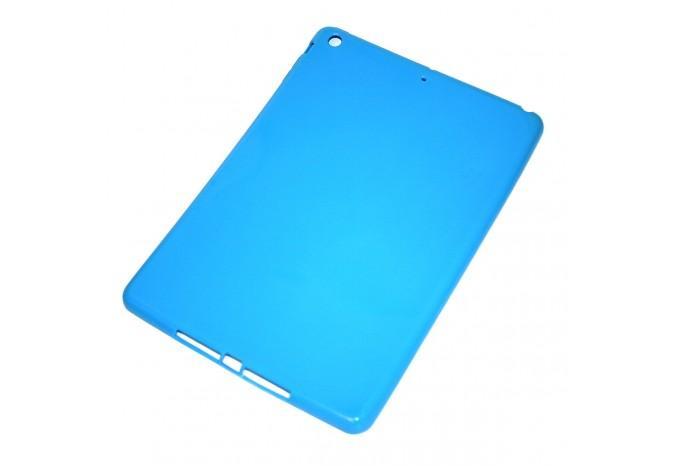 Чехол резиновый ударопрочный для iPad Air / 5 голубой