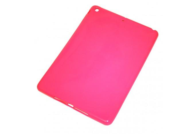 Чехол резиновый ударопрочный для iPad Air / 5 розовый