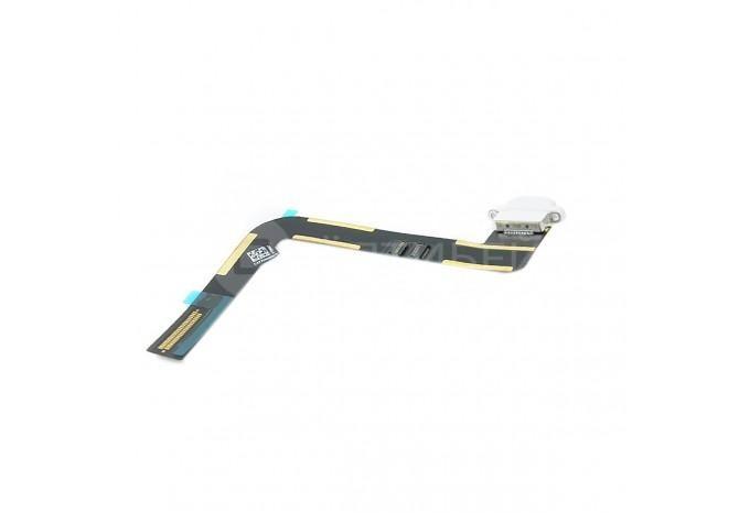 Шлейф нижний Lightning (зарядки) для iPad Air/iPad 5, белый