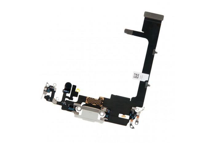 Нижний шлейф зарядки Dock коннектор для iPhone 11 Pro белый