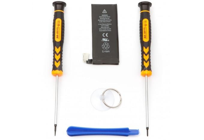 Набор для замены аккумулятора в iPhone 4 c инструментом